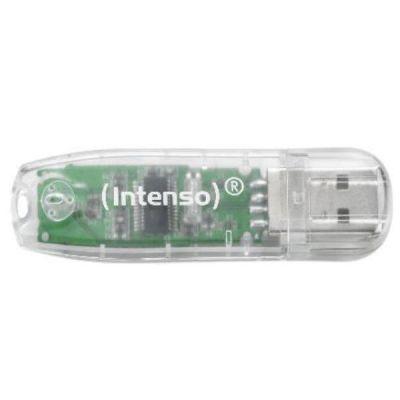 MEMORIA INTENSO USB 2.0 32 GB TRASPARENTE