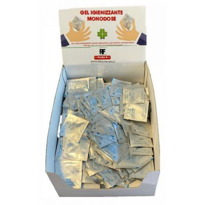 ESPOSITORE GEL IGIENIZZANTE PHARM+ MONODOSE DA 1.5 ML (500 PZ)