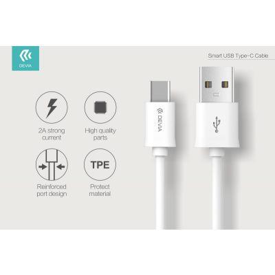 CAVO DATI SMART DEVIA DA USB A TIPO C 1 MT