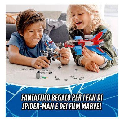 LEGO SPIDERMAN - SPIDERJET VS. MECH VENOM