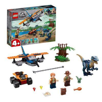 LEGO JURASSIC WORLD VELOCIRAPTOR: SALVATAGGIO IN BIPLANO