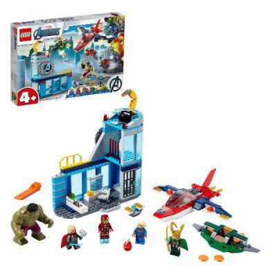 LEGO MARVEL SUPER HEROES L'IRA DI LOKI DEGLI AVENGERS