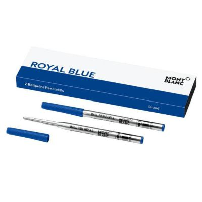 REFILL MONT BLANC PER PENNA A SFERA B ROYAL BLUE (BLU) 2 PZ