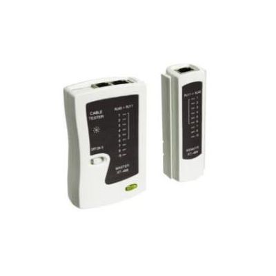 TESTER PER CAVI CON CONNETTORI RJ11/12/45 BNC E USB. COMPATIBILE EIA/TIA 356A