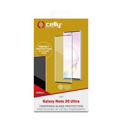 3D GLASS GALAXY NOTE 20 ULTRA BLACK