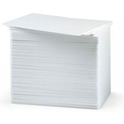 CONFEZIONE DA 500 CARD BIANCHE DA 0.76MM                              IN USO SU TUTTI I TIPI DI STAMPANTI