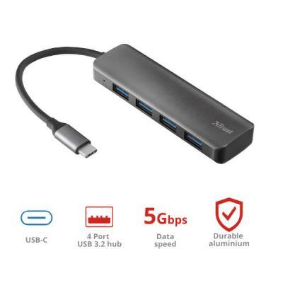 HUB HALYX USB-C 4-PORT USB3.2 HUB
