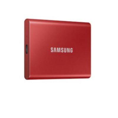 SSD PORTATILE T7 DA 500GB  USCITA USB 3.2  VELOCITÀ DI LETTURA E      SCRITTURA SEQUENZIALI RISPETTIVAMENTE FINO A  1,050MB/SEC E 1,000