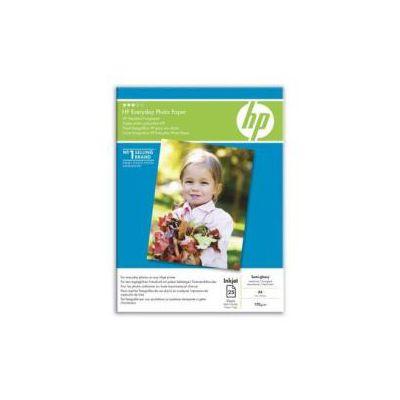CARTA FOTOGRAFICA PER USO QUOTIDIANO HP EVERYDAY PHOTO PAPER  SEMI-LUCIDA  200 G/M   A4 (25FG)