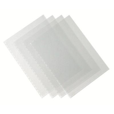 Copertine Clear in PVC 200my cf. 100 Formato A4 trasparente