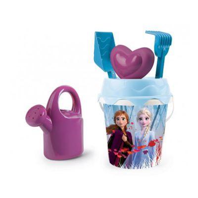 Disney Frozen 2 Set secchiello mare cm. 16 - 7 pz