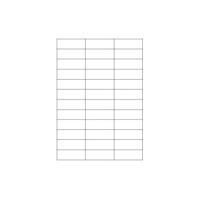 Etichette bianche senza margini - Laser/Inkjet/Copiatrici - 70x25 - 100 ff