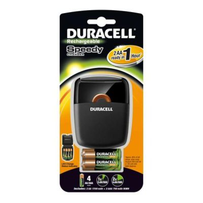 DURACELL CARICABATTERIE CEF27 2AA 2AAAX3