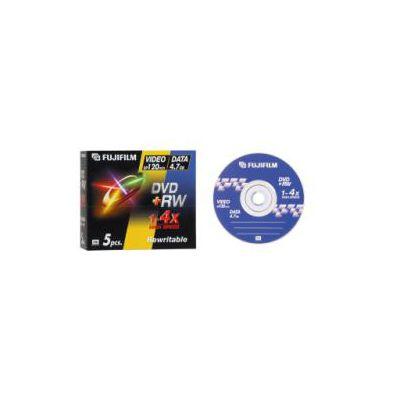DVD RW 4 7GB 4X JEWEL CASE  FOR DATA/VIDEO CONFEZIONE 5 PEZZI