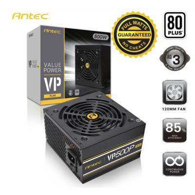 ALIMENTATORE VP 500 PC EC 500W 80+