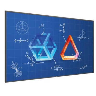 86 T-Line Android UHD HEIR 20 points wireless screen sharing smart I-O even bezels safety glass 2x passive pens OPS SDM-L whiteboard