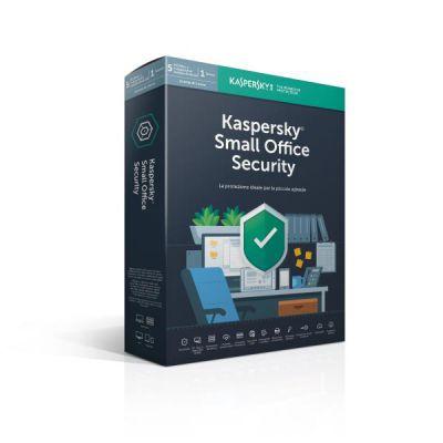 KASPERSKY SMALL OFFICE SECURITY 6 5-MOBILE DEVICE  5-DESKTOP          1-FILESERVER; 5-USER 1 YEAR BASE BOX