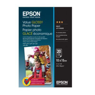 GLOSSY PHOTO PAPER  HOME - PHOTO PAPER  FOTOGRAFIA  10X15 CM  183     G/M   20 FOGLI