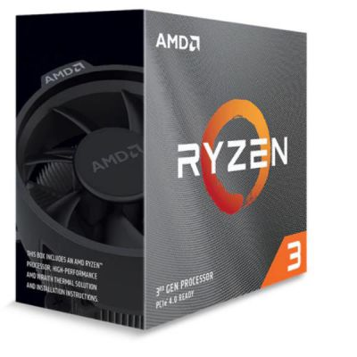AMD RYZEN 3 3100 QUAD CORE 3.6GHZ 18MB SKAM4 BOX