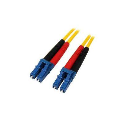 Cavo patch duplex in fibra modalità singola LC/LC 1m - LSZH -  Cavo fibra ottica monomodale LC/LC - OS1 (SMFIBLCLC1)