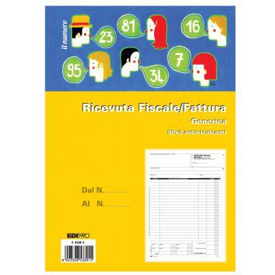 EDIPRO - RICEVUTE FISCALI FATTURE A4-2C