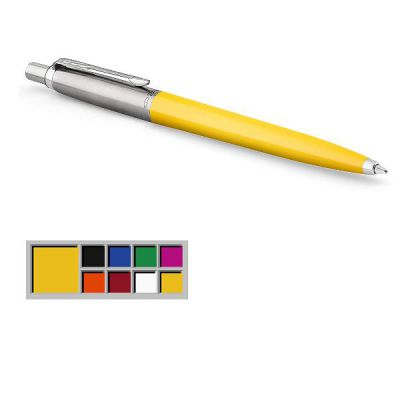 Jotter Plastic YELLOW in Blister