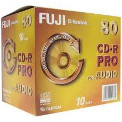 CD-R AUDIO 80 PRO JEWEL CASE CONFEZIONE 10PZ