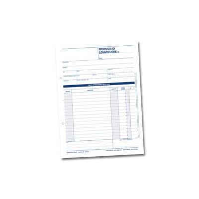 CF10 PROPOSTE DI COMMISSIONE 50 MODULI AUTORICALCANTI IN DUPLICE COPIA29 7X21 5