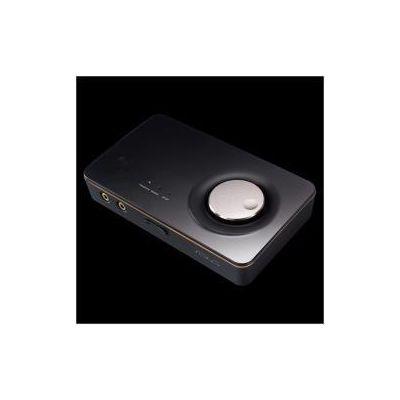 SCHEDA AUDIO USB 7.1 CANALI / 114DB SNR / AMPLIFICATORE CUFFIE        INTEGRATO / CONTROLLO VOLUME MICROFONO / NEW DOLBY HOME THEATRE V4