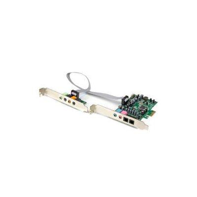 Scheda Audio interna PCI Express surround 7.1 canali - PCI Surround Sound Card a 24-bit   192Khz
