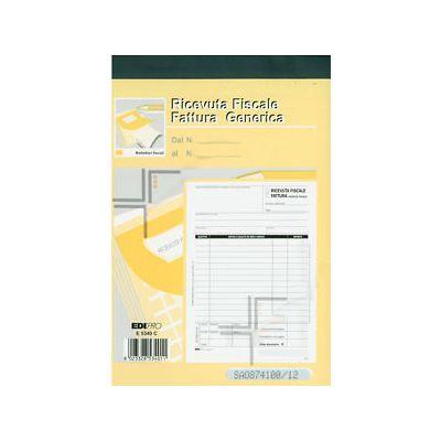 EDIPRO - RICEVUTE FISCALI FATTURE A5-2C