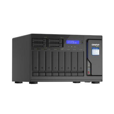 12-BAY TURBONAS (8 X 3.5  HDD + 4 X 2.5  SSD)  SATA 6G  INTEL XEON    W-1250 6 CORES 12 THREADS 3.3 GHZ (BOOST UP TO 4.7 GHZ), 16GB DDR4 ECC