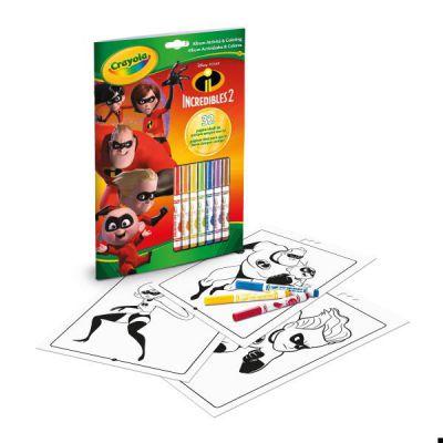 Album Attività & Coloring Disney Gli Incredibili 2