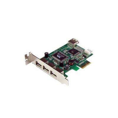 Scheda Pci Express basso prfilo con 4 porte USB 2.0 ad alta velocità