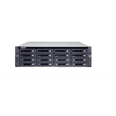 "16-BAY NAS  INTEL  XEON  E-2124 QUAD-CORE 3.3 GHZ PROCESSOR (BURST UP TO 4.3 GHZ), 16 GB UDIMM DDR4 (2 X 8GB), 16X 2.5""/3.5"" SATA HDD/SSD, 4"