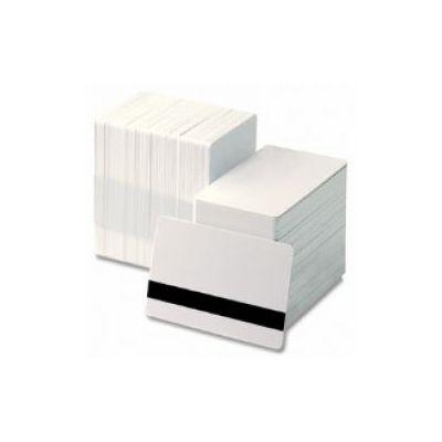 CARD/BADGE 0.76MM CON BANDA MAGNETICA HI-CO CONF.DA 500 CARD          IN USO SU TUTTE LE TIPOLOGIE DI STAMPANTI BADGE/CARD
