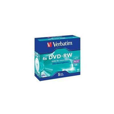 DVD-RW DATALIFE PLUS    4X   4.7GB SERL - SERIGRAFATO (5 PZ.)