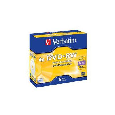 DVD+RW VERBATIM 4.7GB 4X 10 PZ + SIAE