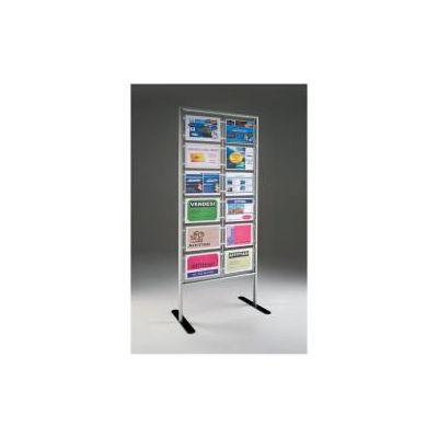 Menpa porta avvisi 12 tasche formato A4 orizzontale