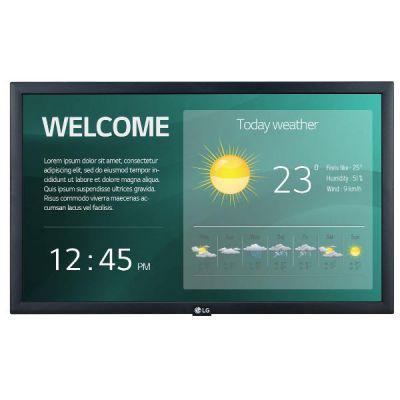 22 LED IPS 1920x1080 16:9 250 nit 1000:1 14 ms 178°-178° 16-7 Speaker 2x1W Wi-Fi 100x100 Land.-Port. HDMI 2 USB RS232 RJ45
