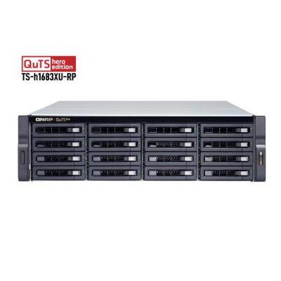 16-BAY 3U RACKMOUNT NAS  INTEL  XEON  E-2236 6 CORES / 12 THREADS 3.4 GHZ PROCESSOR (BOOST UP TO 4.8 GHZ), 128 GB ECC DDR4 ECC, 16 X