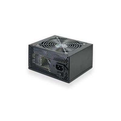 ALIMENTATORE 500W ATX BLACK SINGOLA VENTOLA DA 12CM 2 CONNETTORI MOLEX1 CONNETTORE FDD 4 CONNETTORI SATA 1 CONNETTORE PCIEX 6PIN FILTRO PPFC