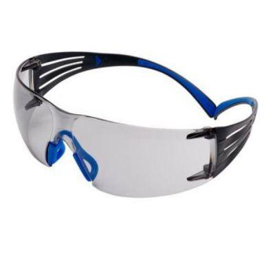 SecureFit 400 Occhiali di protezione  montatura Blu/Grigio  Scotchgard Anti nebbia  I/O per interno/esterno  Lenti grigie  SF407SGAF-BLU