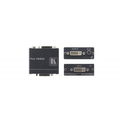 Distributore Amplificato DVI - DVI Repeater 2,25 Gbps (single link) HDCP