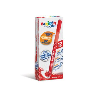 CF12 PENNA CANCELLABILE ROSSO OOPS