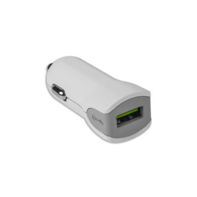 TURBO CAR CHARGER 1USB 2.4A WH