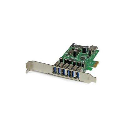Scheda Espansione PCI Express USB 3.0 a 7 porte con profilo basso e standard - alimentazione SATA