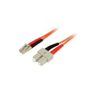 Cavo patch duplex in fibra multimodale 50/125 2 m LC/SC