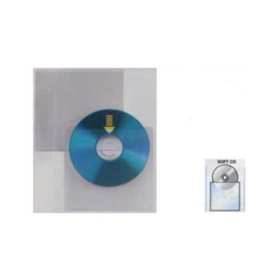 25 BUSTE A SACCO PPL 12,5X12CM SOFT CD-DVD