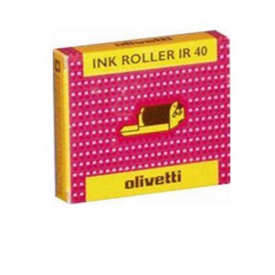 INK ROLLER IR 40 NERO X - SUMMA 20-301 LOGOS 91-92-93                 CONFEZIONE 2 PEZZI (PRODOTTO INFIAMMABILE)